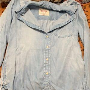 Size Medium Chambray Shirt